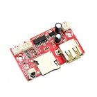 Jtron Lossless Music WAV + MP3 Decoder Board - Rouge + Argent (12V)