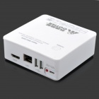 COTIER N4-Mini 4 Channel 720P / 1080P HD Mini NVR Network Video Recorder - White
