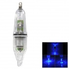 Professional 2-LED Blue 2-Mode Fishing Lamp (3 x AG13)