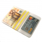 AceCamp 1802 Waterproof PVC Wallet - Transparent + Yellow