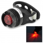 UltraFire 1-LED 10lm 2-Mode Red Light Bike Tail Light