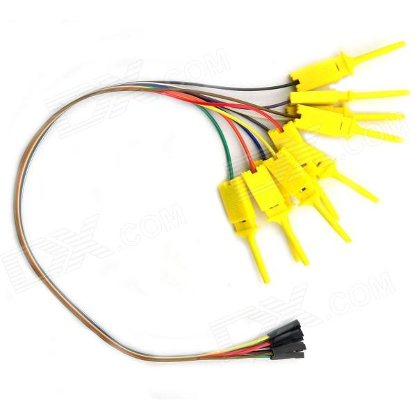 Jtron Logic Analyzer Test Clip - Amarelo (10 PCS)