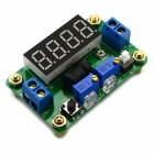 Jtron DC 4.5~24V to DC 0.9~20V Constant Voltage / Current Buck w/ 4-Digit Green LED Display - Green