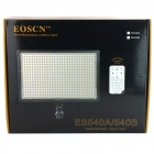 EOSCN ES540A 32W 540-LED 3200K - 5500K 3500lm Video luz w / filtros - negro