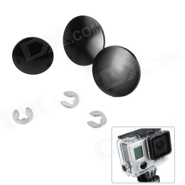 Fat Cat High Quality Individual DIY Modified Bottons Set for GoPro Hero3+ Los Angeles Б.у товары