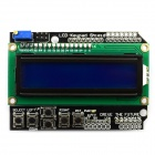 Jtron Character LCD Input / Output Expansion Board / LCD Keypad Shield - Green + Black