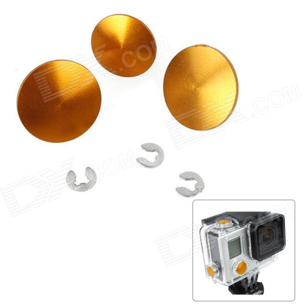 Fat Cat High Quality Individual DIY Modified Buttons Set for GoPro Hero 3+