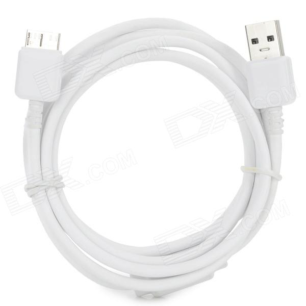 TZ-237 USB 3.0 to Micro USB 9-Pin Data/Charging Cable for Samsung Galaxy Note 3 N9000 - White usb to micro usb charging data cable for samsung galaxy note 3 white black 100cm