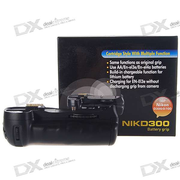 Vertical External Battery Grip for Nikon D300/D700 DSLR