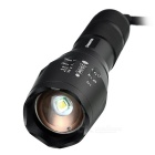 E-SMARTER Zooming Cree XML-T6 900lm 5-Mode White Tactical Flashlight