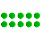 Jtron Tact Switch Round Cap - Green (12 x 12mm / 10 PCS)