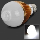 FengYang 014 PIR Infrared Motion Sensor E27 5W 230lm 6500K 5-LED White Light Bulb (85~265V)