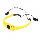 Outdoor Diving Waterproof Stereo BluetoothV2.1 Headphone - Yellow + Black
