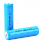 "GOOD Replacement Rechargeable ""2200mAh"" 18650 Li-ion Batteries Set - White + Blue (2 PCS)"