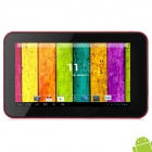 "A70X 7 ""Android 4.2 Tablet PC w / 512 MB RAM / 4 GB ROM - Wine Red + Black"