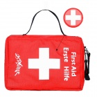 Outdoor Emergency First Aid Kit Bag - Red