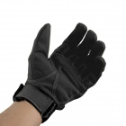OUMILY Outdoor Tactical Full-finger Gloves - Black (Size XL / Pair)