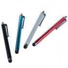 Pencil Style Flexible Silicone Capacitive Screen Stylus - Black + White (4 PCS)