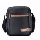 Men's Business And Leisure Single Shoulder Bag - Black