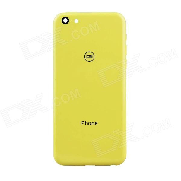 XiaoCai X800 Replacement Battery Back Cover Case - Yellow