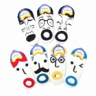 Cute Creative Cotton Facial Expression Socks (Seven Pairs Set)