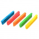 Domino Spiel DIY 5-Color Ice Cream Sticks (5 x 10 PCS)