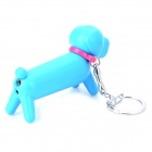 Cute Dog Style Gas Butane Lighter - Dark Blue + Red