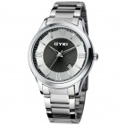 Men's Business Casual Retro Quartz Watch - Silver