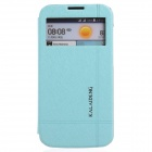 KALAIDENG Protective PU Leather Case Cover Stand for HUAWEI G730 - Blue