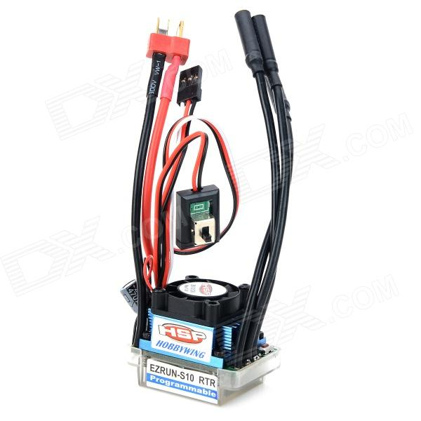 HSP 37017 45A Brushless ESC for 1/10 R/C Car - Black + Blue