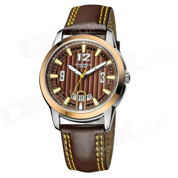 Men's Fashionable Personality Luxury Quartz Watches - Brown