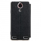 KALAIDENG ICELAND Series Protective PU Leather + PC Case Cover Stand for NUBIA Z5S - Black