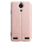 KALAIDENG ICELAND Series Protective PU Leather + PC Case Cover Stand for NUBIA Z5S - Golden