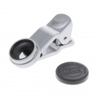 LIEQI LQ-005 Clip-on Circular Polarizer Detachable Lens for Mobile Phone / Tablet PC - Silver