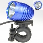 ZHISHUNJIA LED 1000lm 4-Mode White Bicycle Headlight - Blue + Black (4 x 18650)