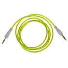 3.5mm Male to Male Audio Cable - Green (105cm)