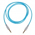 3.5mm Male to Male Audio Cable - Blue (105cm)
