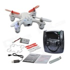 Hubsan X4 H107D FPV 2.4GHz 4CH RC Quadcopter w/Live LCD Transmitter/0.3MP Camera - White