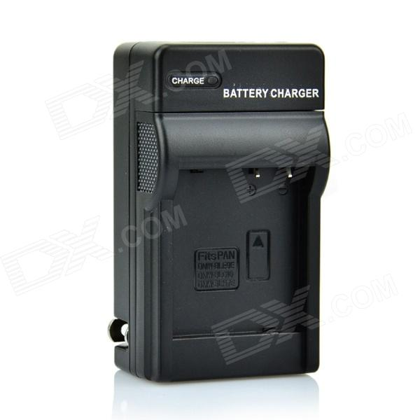 DSTE Battery Charger for Panasonic DMC-GF3 GF5 GF6 GX7 GM1 GM1 GM1K (US Plug) replacement dmw bcf10e s009 3 7v 940mah battery for panasonic fs6 fs7 fs15 fs25 ft1