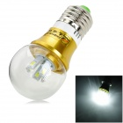 ZHISHUNJIA E27 5W 450lm 10-SMD 5630 LED White White Light Bulb (AC 85~265V)