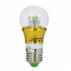 ZHISHUNJIA E27 5W 450lm 10-SMD 5630 ampoule LED chaude blanche (AC 85 ~ 265V)