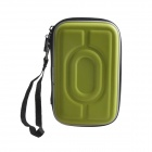 "AYA-193 Protective Hard Shockproof Bag Case for 2.5"" Hard Disk Drive - Green"