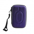 "AYA-193 Protective Hard Shockproof Bag Case for 2.5"" Hard Disk Drive - Purple"