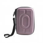 "AYA-193 Protective Hard Shockproof Bag Case for 2.5"" Hard Disk Drive - Pink"