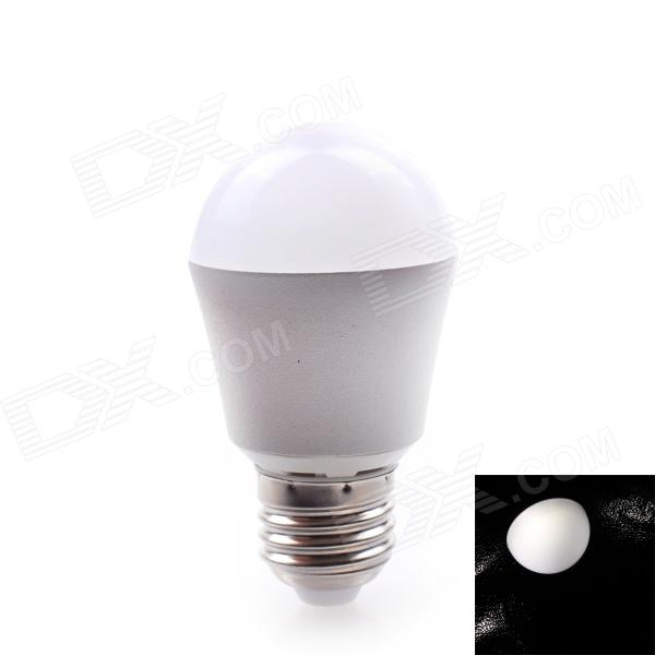 JOYDA-QPM-WH05 E27 5W 400LM 6000K  LED Neutral White Ball Light Bulb (AC 85~265V)