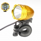 ZHISHUNJIA  1 x Cree XM-L2 T6 1000lm 4-Mode White Bicycle Headlight - Gold + Black (4 x 18650)