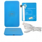 X5 Qi Standard Mobile Wireless Power Charger + Samsung Galaxy N7100 Wireless Charger Receiver - Blue