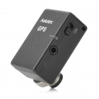 AK-G1s Wireless GPS Receiver w/ Shutter Release Interface for DSLR Camera Nikon D4 + More - Black