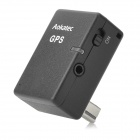 AK-G7 Wireless GPS Receiver w/ Shutter Release Interface for DSLR Camera Nikon D7000 + More - Black
