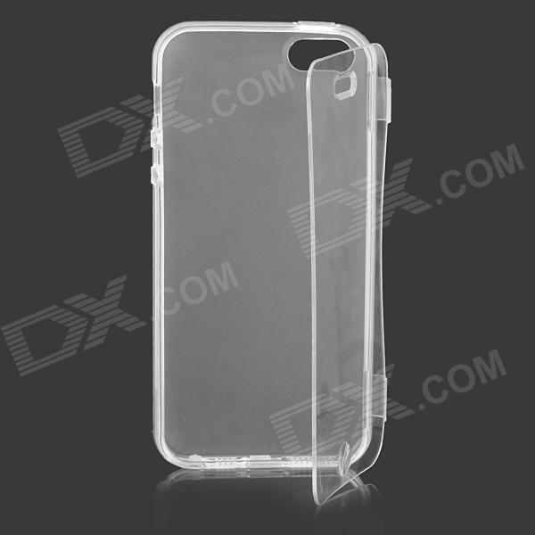 Simple Protective TPU Case for IPHONE 5 / 5S - Translucent White protective silicone case for nds lite translucent white